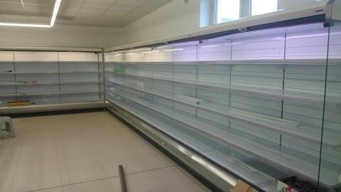 Dodávka chladících vitrín pro samoobsluhu v Hořovicích