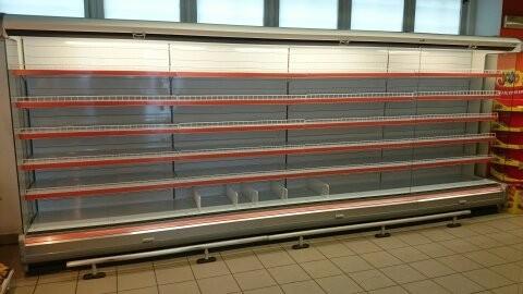 Dodávka chladících přístěnných vitrín v obci Nižbor
